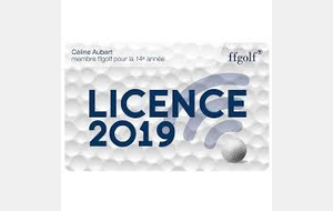 Licence 2019